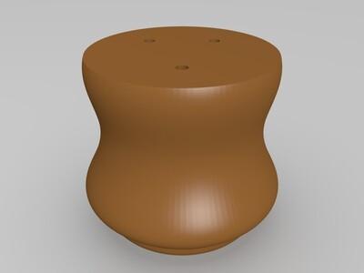 简易花盆-3d打印模型