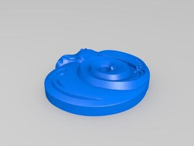 玉雕-3d打印模型