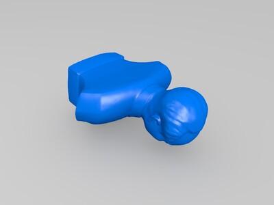 毛主席半身雕像-3d打印模型