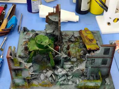 战争废墟-3d打印模型