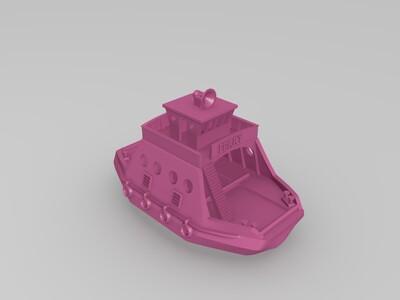 渡轮-3d打印模型