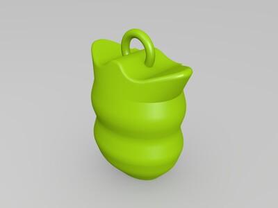 吊坠-3d打印模型