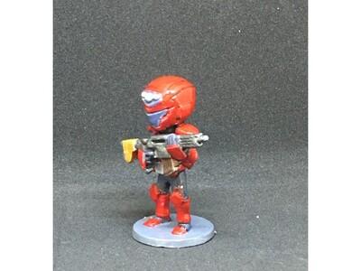 海军陆战士兵-3d打印模型