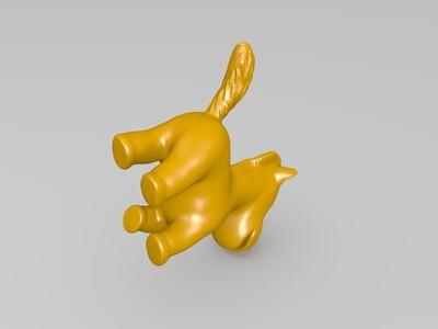 小斑马-3d打印模型