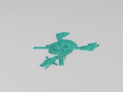 骷髅logo-3d打印模型