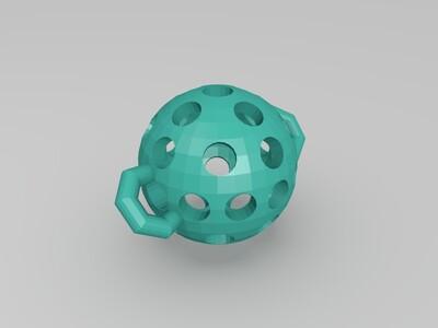 口♂球-3d打印模型