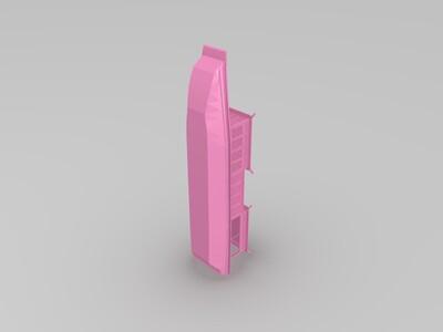 古代官船-3d打印模型
