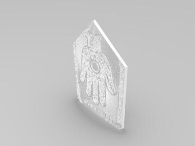 影视动物世界卡片布-3d打印模型
