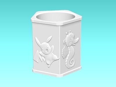 储物篮-3d打印模型