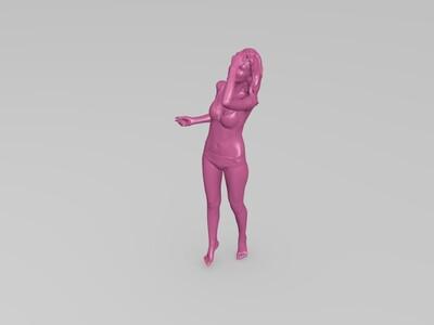 性感美女-3d打印模型