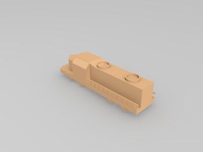 火车-3d打印模型