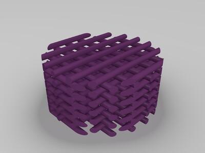 圆柱支架-3d打印模型