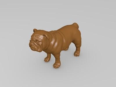 沙皮狗-3d打印模型