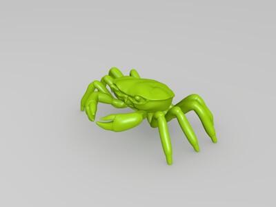 螃蟹-3d打印模型