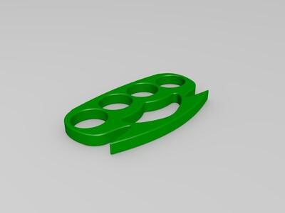 指虎2-3d打印模型