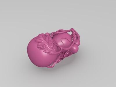 葫芦-3d打印模型