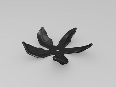 马斯的花-3d打印模型