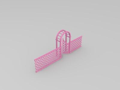 木围栏-3d打印模型