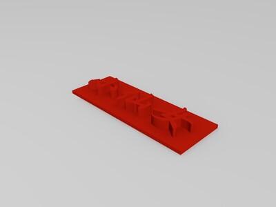 小仙女-3d打印模型