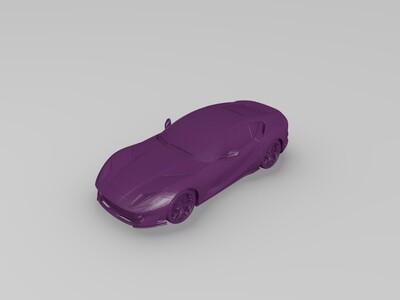 法拉利-3d打印模型