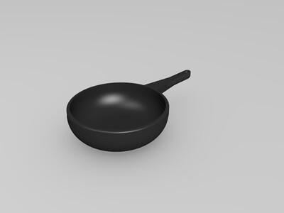 3D锅子-3d打印模型