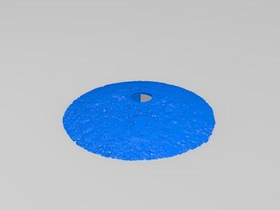 月球灯150mm-七夕特辑-牵手1-3d打印模型