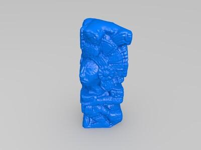 图腾柱-3d打印模型