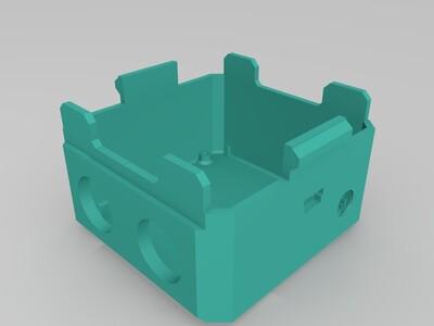 OTTO机器人bodyV3增加胳膊接口-3d打印模型