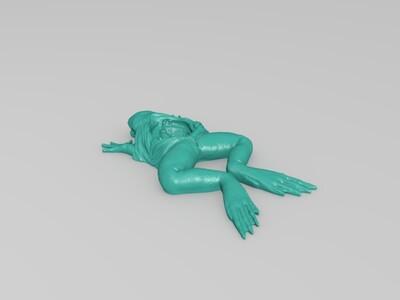 解刨青蛙-3d打印模型
