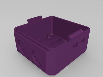 OTTO机器人bodyV6增加胳膊接口-3d打印模型