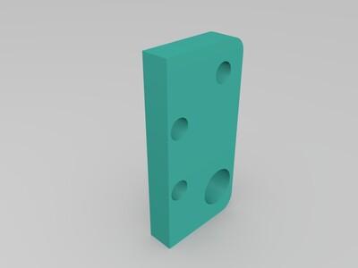 UM Ultimaker 十字滑块 自用-3d打印模型
