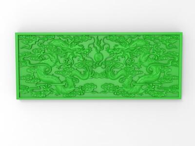 玉雕 龙-3d打印模型