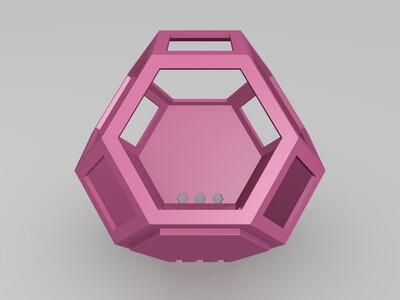 盆栽花盆-3d打印模型