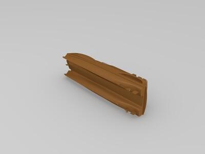 蝙蝠侠船模型-3d打印模型
