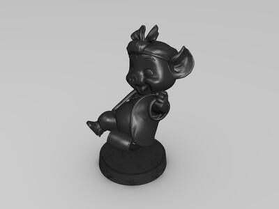 八戒-3d打印模型