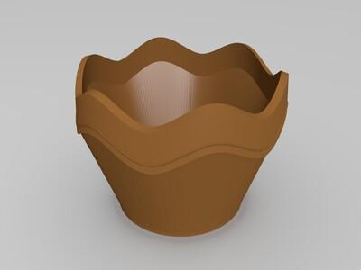 花盆1-3d打印模型