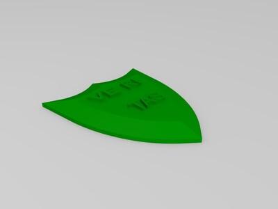 盾牌-3d打印模型
