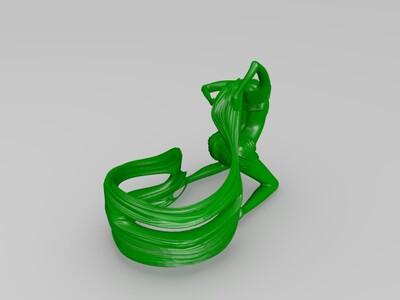 酒架、酒托-3d打印模型