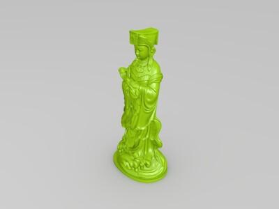 妈祖-3d打印模型