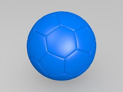 足球-3d打印模型