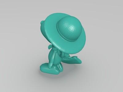 史路比-3d打印模型