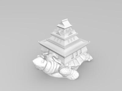 玄武楼-3d打印模型
