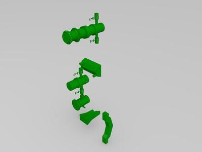 好玩的木头柱子-3d打印模型