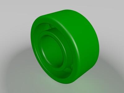 L940ZZ深沟球轴承-3d打印模型