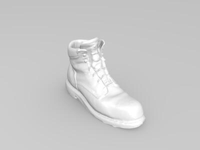 大头皮鞋-3d打印模型