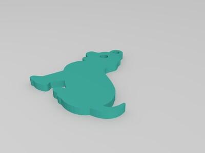 生肖吊坠(狗)-3d打印模型