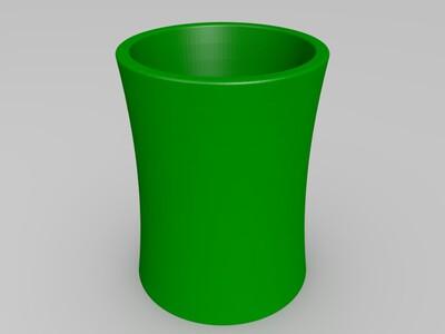 安徽国际商务学院笔筒-3d打印模型