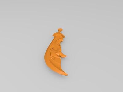 刀-3d打印模型