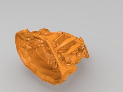 艺术雕塑-3d打印模型