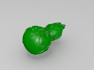 葫芦009-3d打印模型